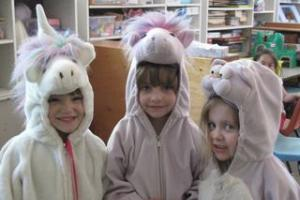 Unicorns in Dress Up